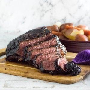 Smoked corned beef recipe.