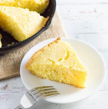 Cornbread recipe without buttermilk.