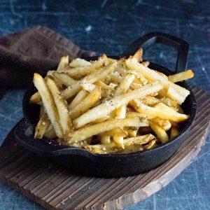 Truffle fries recipe.