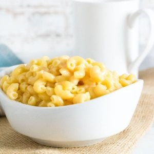 Mac and Cheese recipe without milk.
