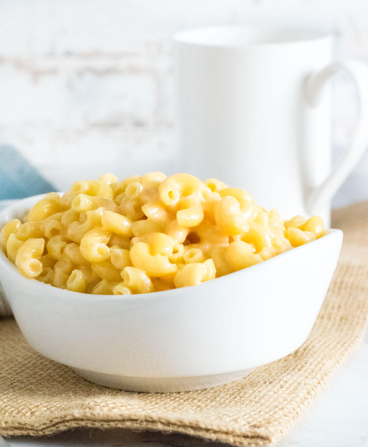 Macaroni and Cheese without Milk.